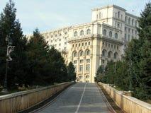 人布加勒斯特,罗马尼亚议院  免版税图库摄影