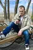 人年轻人 免版税库存照片