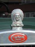 人开汽车印第安酋长吉祥人头 库存图片