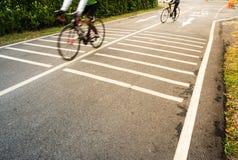 人循环的自行车 库存照片