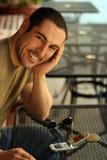 人微笑 免版税库存图片