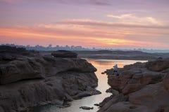 令人惊讶的山姆帕纳bok和大峡谷在泰国 库存图片