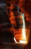 令人惊讶的羚羊峡谷- HDR 免版税图库摄影