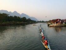 令人惊讶的老挝 免版税库存图片