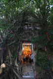 令人惊讶的Wat轰隆Kung,泰国 免版税库存照片