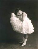 令人想往的芭蕾舞女演员 免版税库存照片