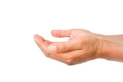人手标志 免版税库存图片