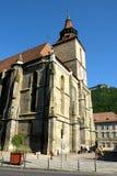 黑人教会在布拉索夫, Transilvania 图库摄影