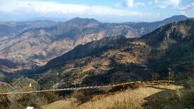 令人敬畏的山景 图库摄影
