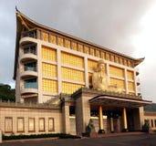 人文学科纪念寺庙在南台湾 库存照片