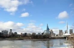 人权的加拿大博物馆 库存图片