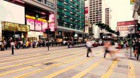 人横渡的街道 免版税库存图片