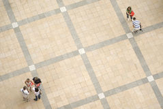 人正方形 免版税图库摄影