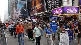 人民的气候3月303 库存照片