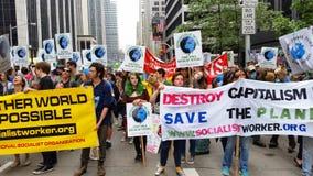 人民的气候3月409 库存照片