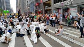 人民的气候3月411 免版税图库摄影