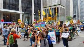 人民的气候3月418 免版税库存图片