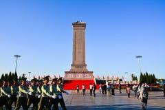 人民英雄纪念碑 免版税库存图片