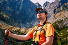 年轻人游人 免版税图库摄影