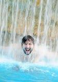人游泳 库存图片