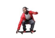 人溜冰板运动 免版税库存图片