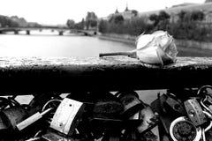 巴黎人片刻 免版税图库摄影