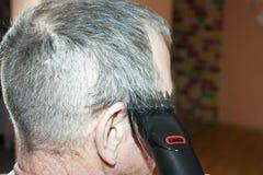 人的一种发型 在零以下与 免版税库存照片