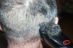 人的一种发型 在零以下 库存图片