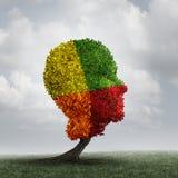 人的心情心理学变动 免版税库存照片