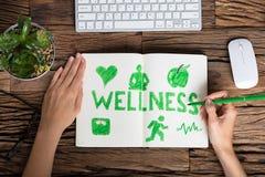 人的手图画健康概念 图库摄影
