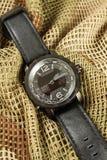 人的手表测时器 免版税库存照片