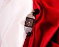 人的机械手表 免版税图库摄影