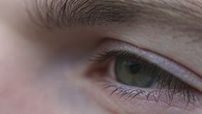 人的眼睛希望宏观射击  股票视频