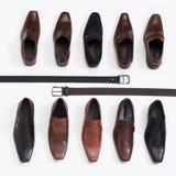 人的鞋子 免版税库存图片