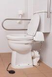 人的洗手间以伤残 库存照片