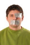 人磁带 免版税图库摄影