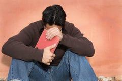 人祈祷 图库摄影