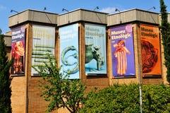 人种学的博物馆 免版税库存图片