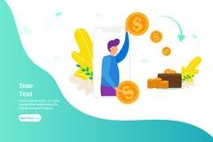人给金钱,支付工作,捐赠的概念,给金钱 库存图片