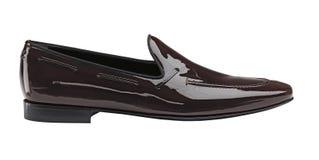 黑人缺乏人的鞋子 免版税图库摄影