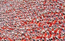人群日独立马来西亚游行s 库存照片