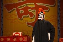"""黑人胡子将军-杨Family†的北京Opera""""妇女将军 免版税库存照片"""