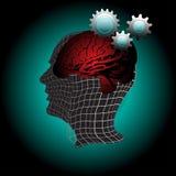 人脑 免版税库存照片