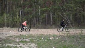 人自行车的 影视素材