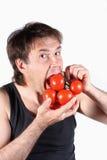 人蕃茄 免版税库存图片