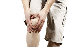 人藏品膝盖 图库摄影