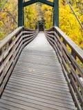 人行桥,杜兰戈,科罗拉多 库存图片