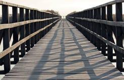 人行桥 库存照片