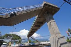 人行桥 免版税图库摄影