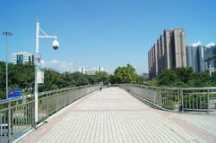 人行桥 免版税库存照片